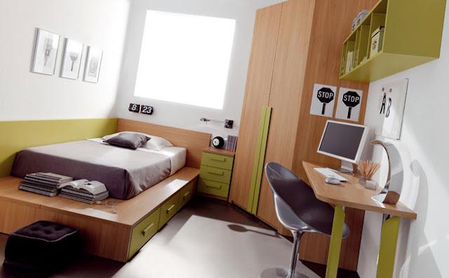 Muebles para dormitorios juveniles infantiles for Cuarto universitario