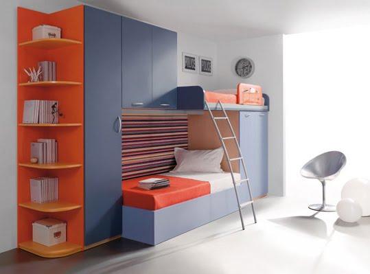 Muebles para dormitorios juveniles infantiles - Habitaciones originales para ninos ...