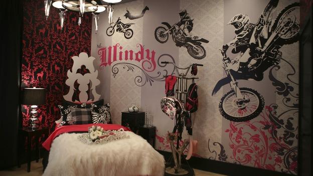 Dormitorio para jovencita motociclista girls bedroom en for Cuartos de ninas fucsia