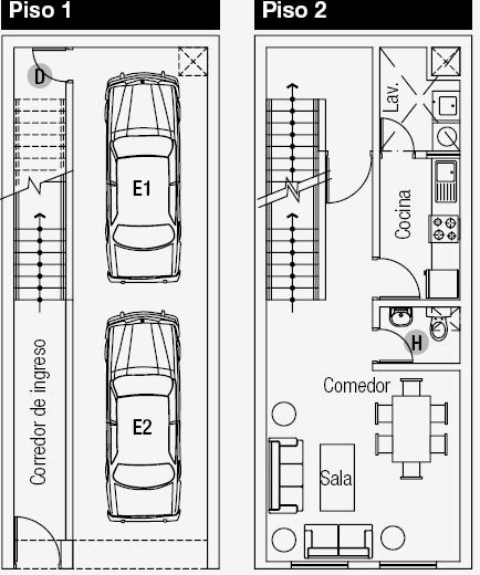 Planos de casas gratis y departamentos en venta planos de for Niveles en planos arquitectonicos