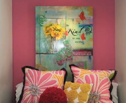 Dormitorio para ni a adolescente mujer color rosado y verde - Dormitorio juvenil nina ...