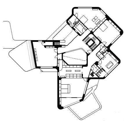 Planos de casa minimalista casa dupli por j mayer h - Planos de arquitectos ...
