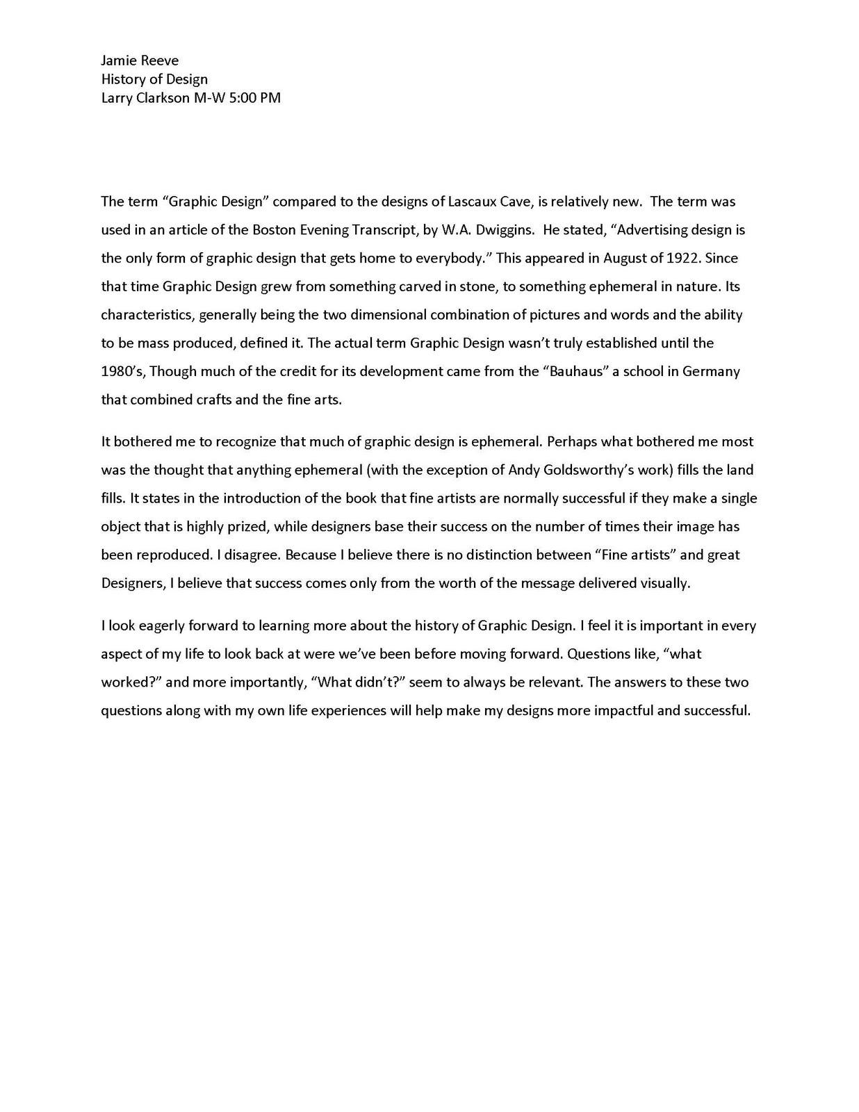 Explication essay