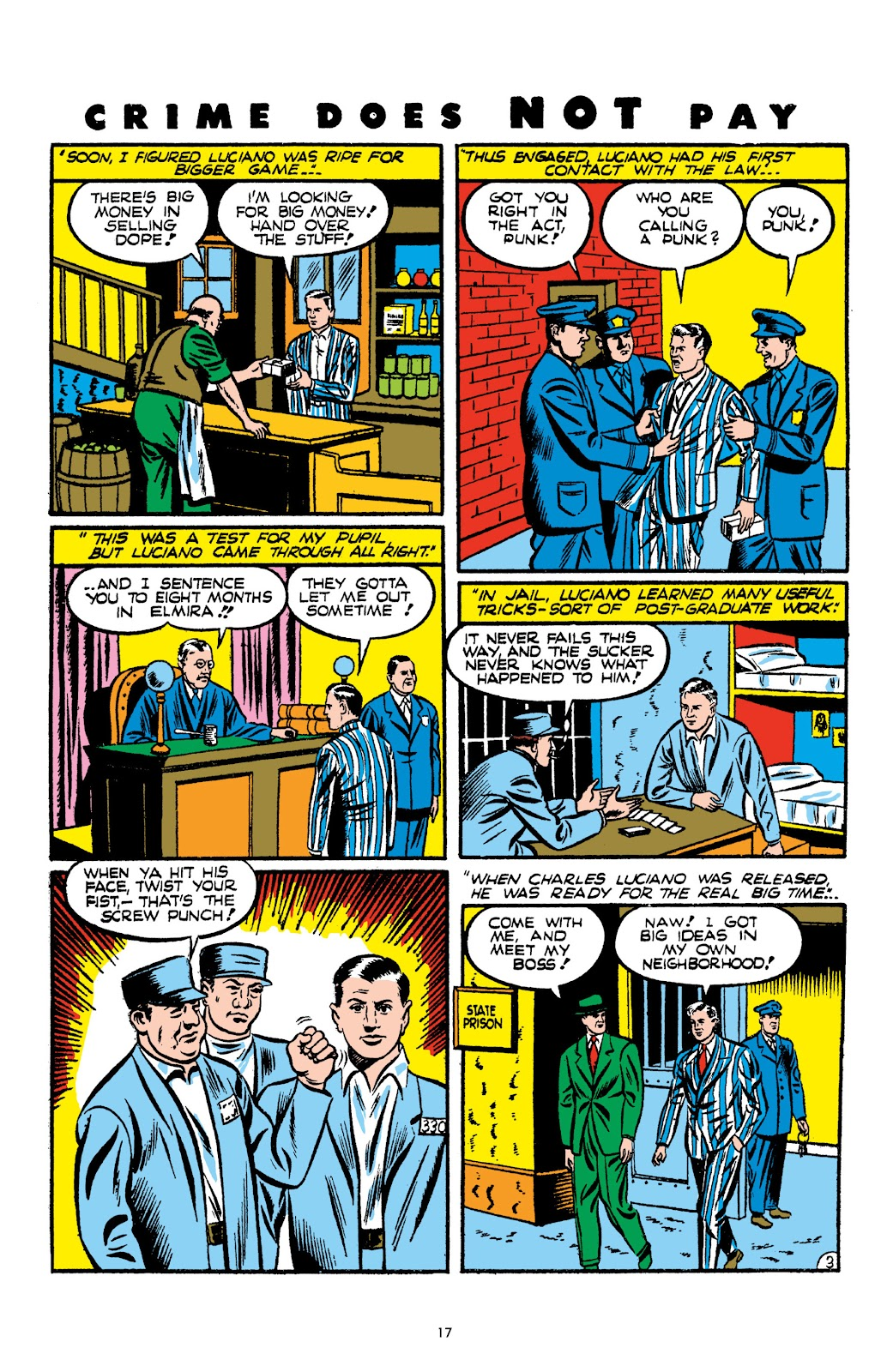 Read online Crime Does Not Pay Archives comic -  Issue # TPB 2 (Part 1) - 17