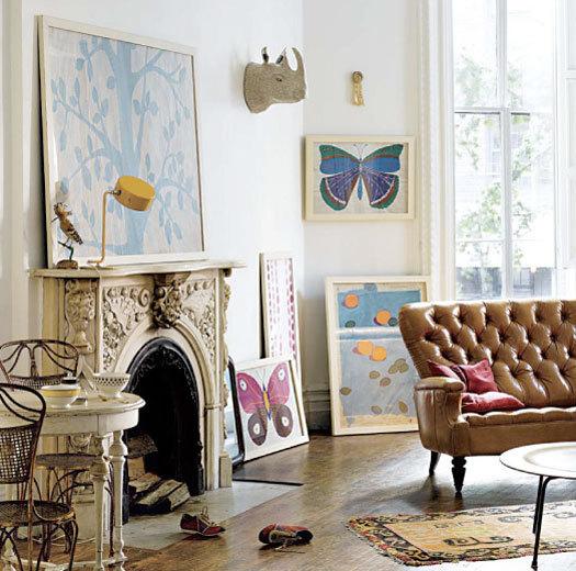 fabulous anthropologie inspired living room | Barker House Love: Get Inspired: Photography Part 1