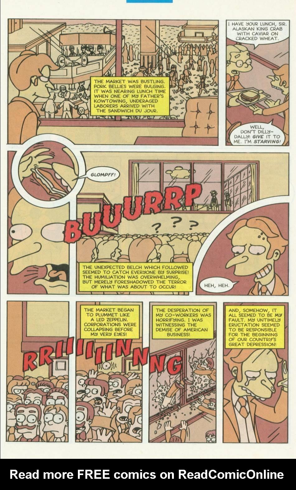 Read online Simpsons Comics comic -  Issue #8 - 4