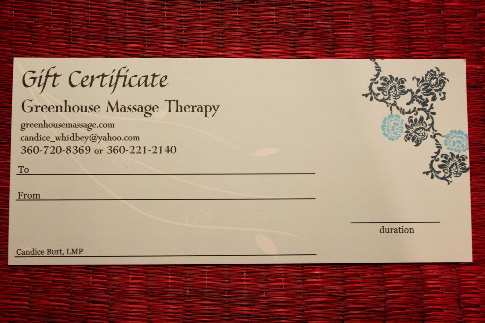massage gift certificate template resume builder massage gift certificate template 7 massage gift certificate templates sample printable massage gift