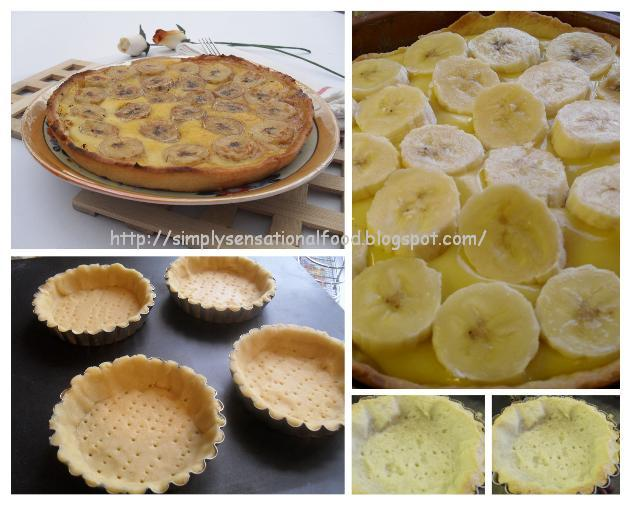 Banana Custard Filling For Cakes