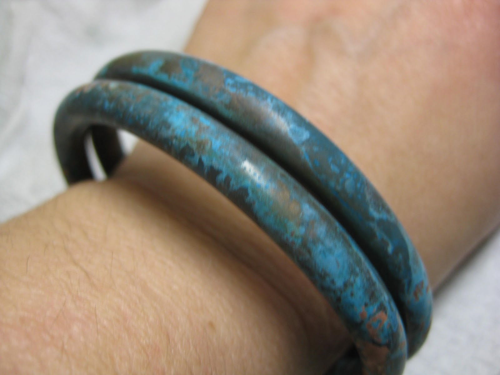 New Jewelry A Day Make A Bangle Bracelet From A Copper Pipe