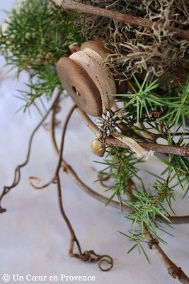 Little Edelweiss brooch and bell