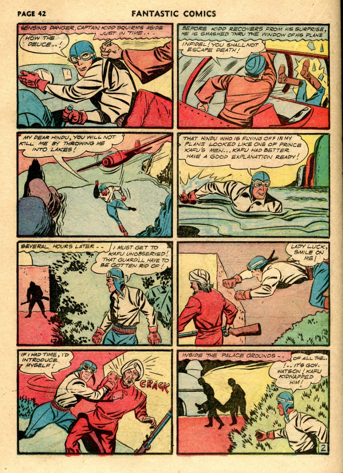 Read online Fantastic Comics comic -  Issue #21 - 40