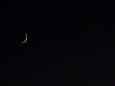 Images of Moon Venus And Jupiter Conjunction - #SpaceMood