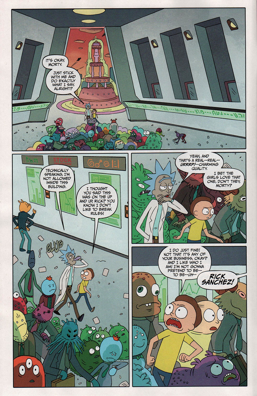 Read online Free Comic Book Day 2017 comic -  Issue # Rick and Morty - 6
