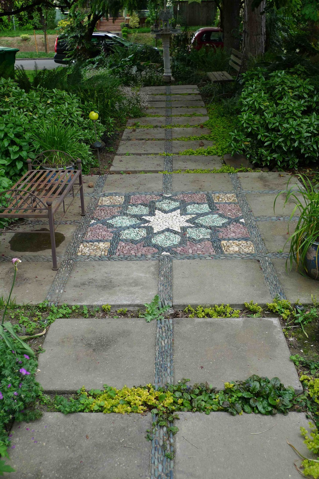 Jeffrey Bale's World of Gardens: Permeability in the Garden on Small Walkway Ideas id=52853