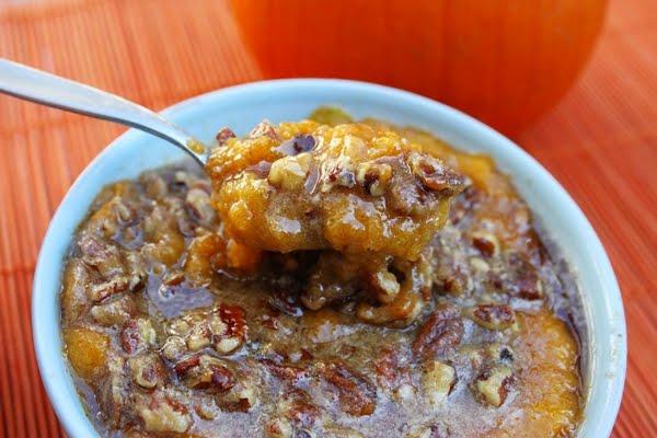 Sweet Pumpkin Cornmeal Mush