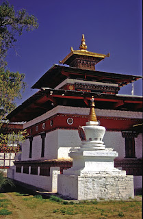 Lakhang Monstaery in Paro, Bhutan