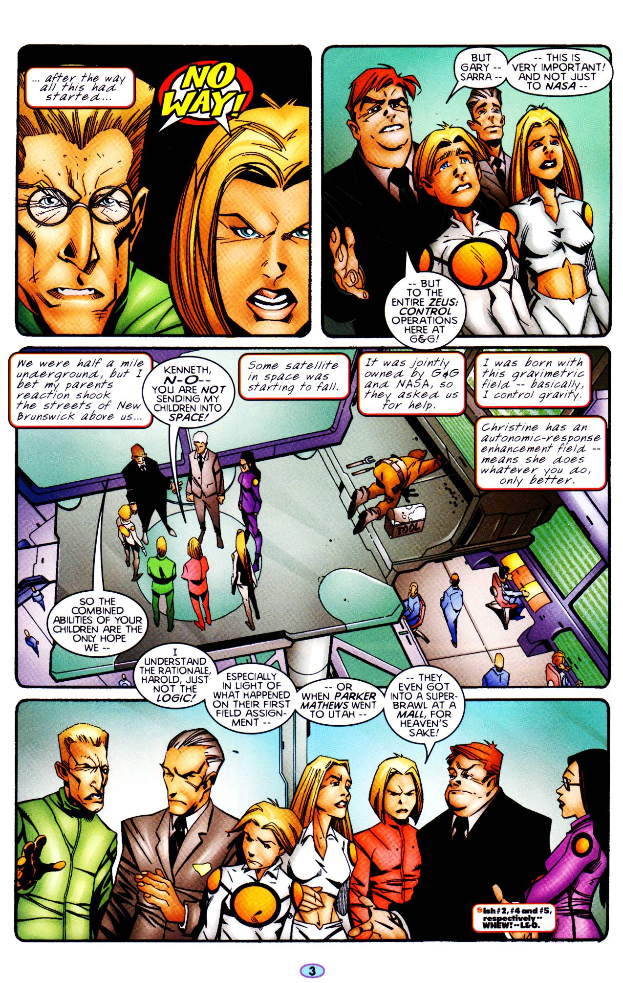 Read online Troublemakers comic -  Issue #6 - 4