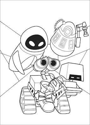 wall e coloring pages | DISNEY COLORING PAGES