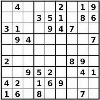 Printable Sudoku Puzzles 4 Per Page Easy Sudoku Puzzle
