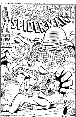 Preschool Coloring Sheets: Spiderman Coloring Pagesstar ...