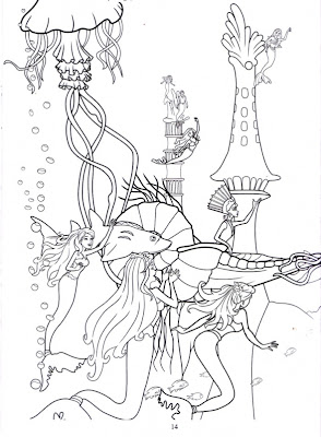 Barbie In A Mermaid Tale Printable Coloring Pages ...