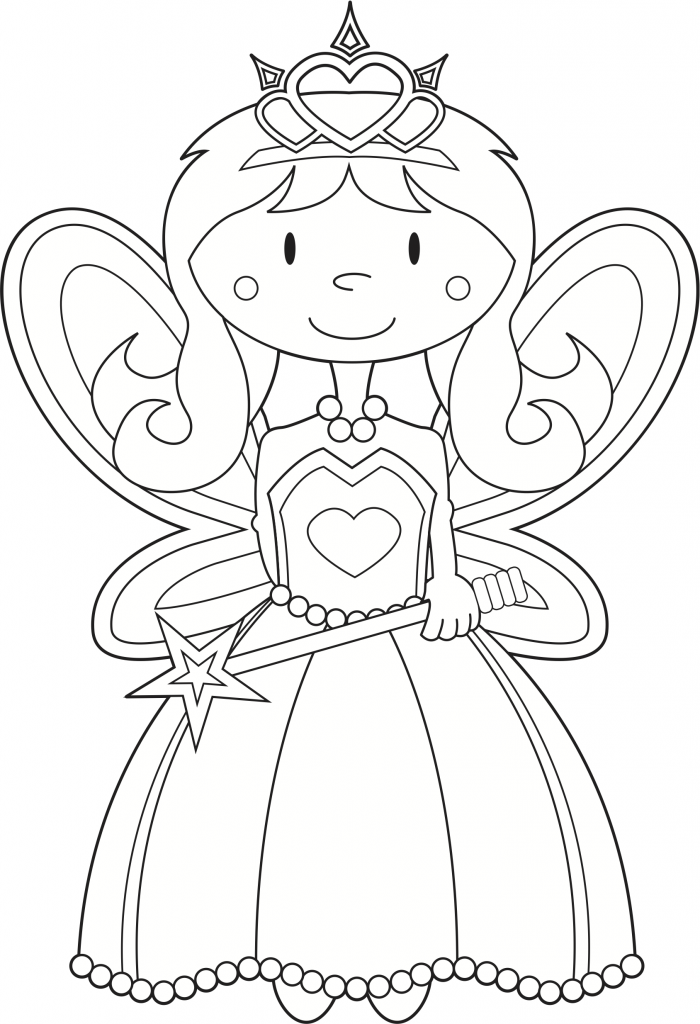 farytale princess coloring pages - photo#4