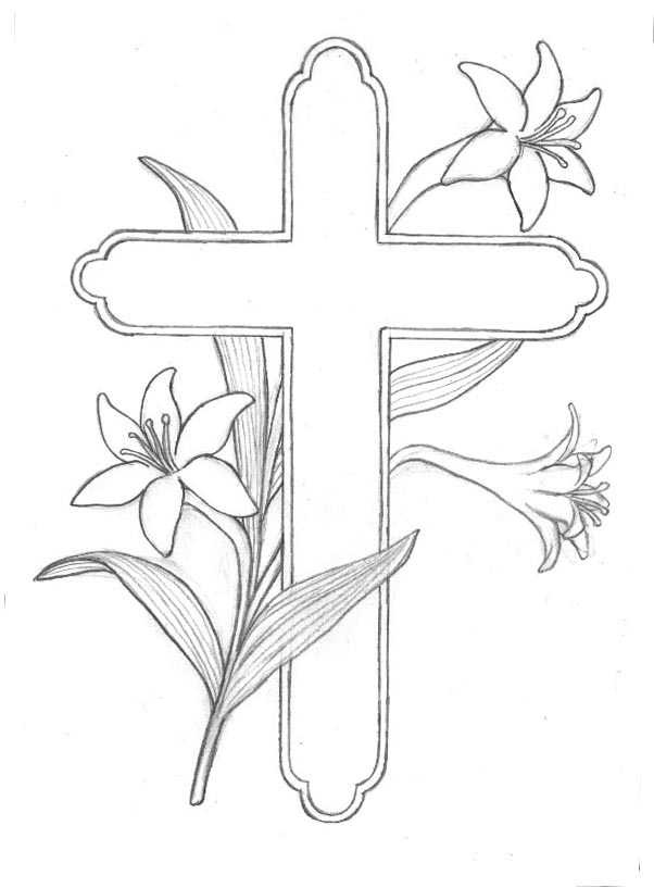 easter colouring religious easter colouring in pages