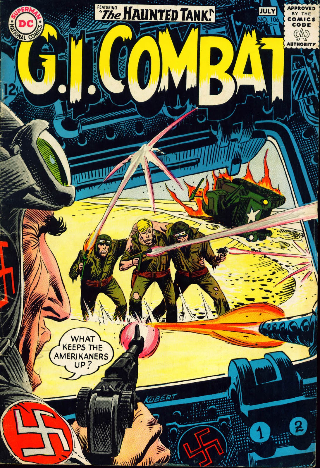 G.I. Combat (1952) issue 106 - Page 1