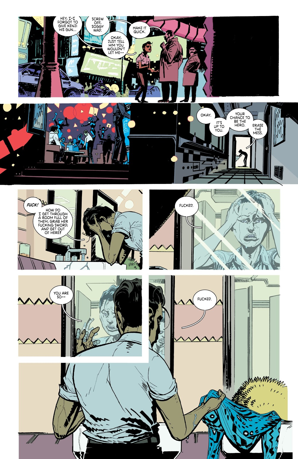 Read online Deadly Class comic -  Issue #37 - 12