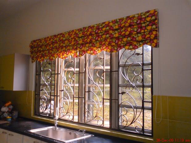 Cara Jahit Langsir Dapur Roman Blind Beautiful Curtains