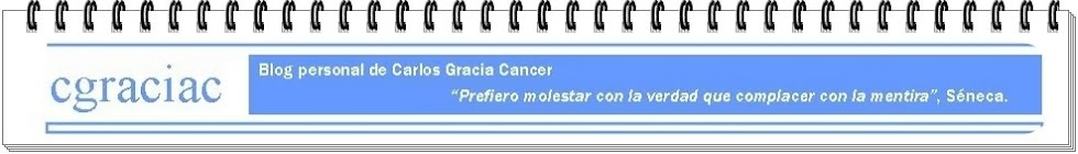cgraciac: el blog de Carlos Gracia Cancer