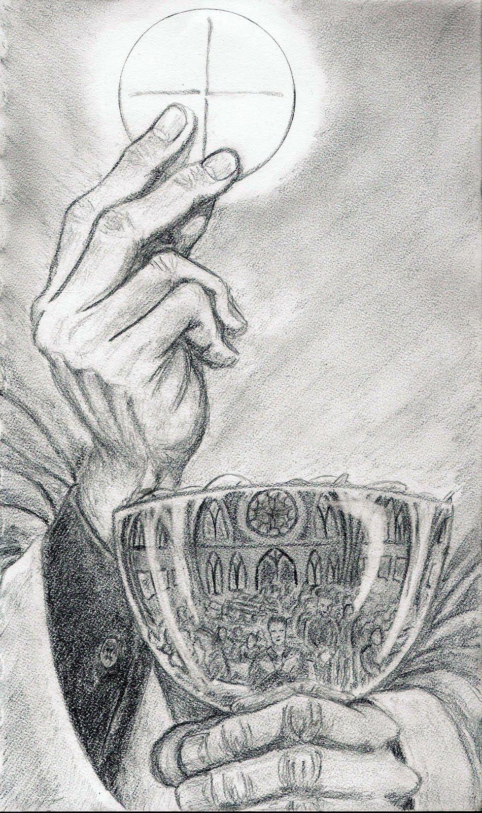 Body of christ sketch