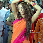 Sexy Actress Mallika Sherawat In Saree