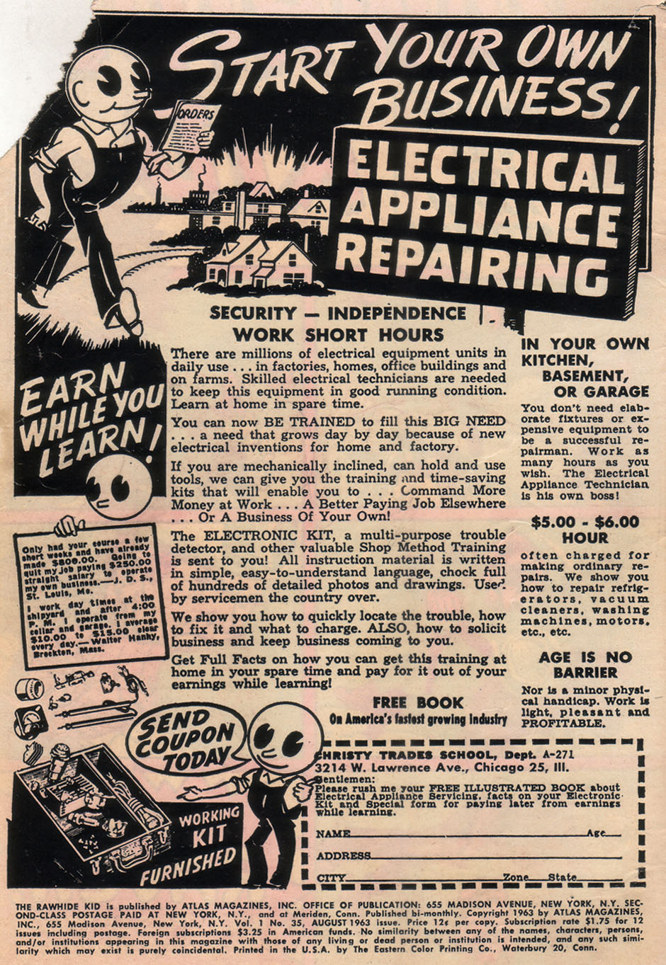 The Rawhide Kid (1955) issue 35 - Page 2