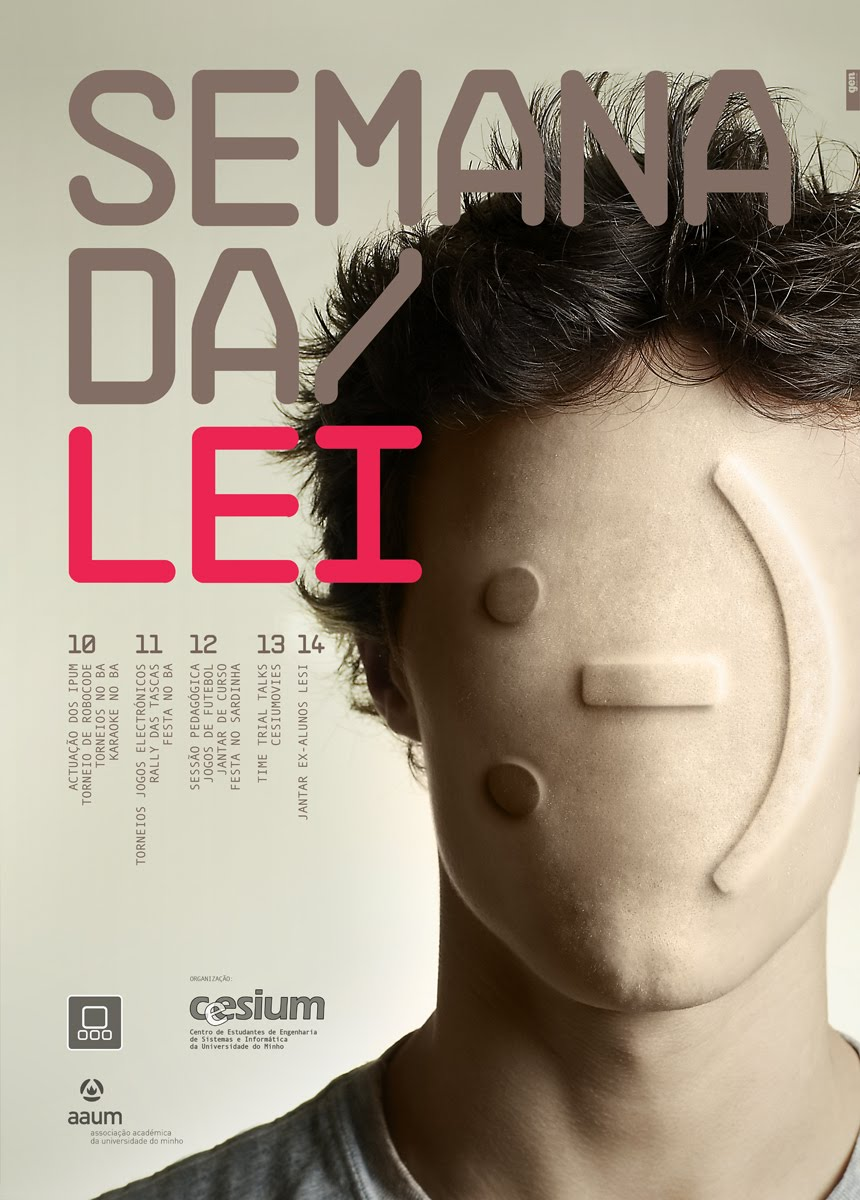 Semana-da-Lei-poster-Gen-Design-Studio-emoticon-face-computer-science