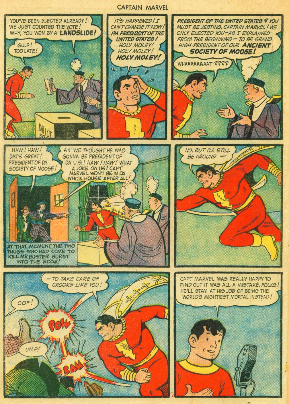 Captain Marvel Adventures issue 41 - Page 38