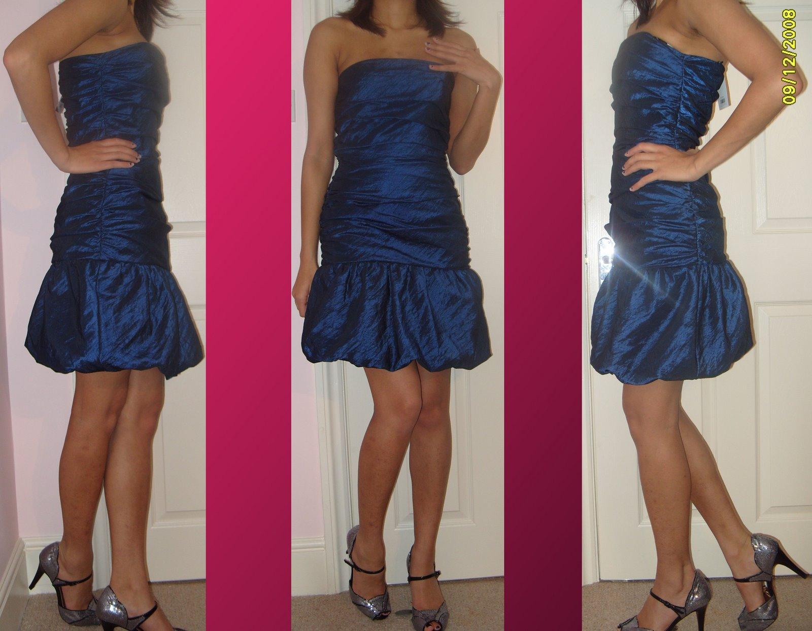 Dorothy Perkins Midnight Blue Prom dress
