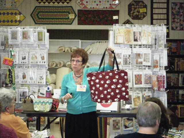 Atkinson Designs Stand N Stow : News from the quilt asylum groovy girls club meeting