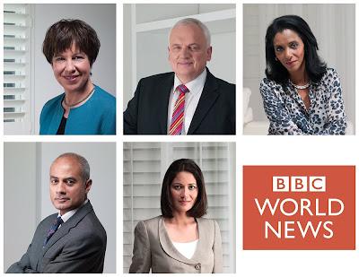 John Hooper — BBC World News portraits
