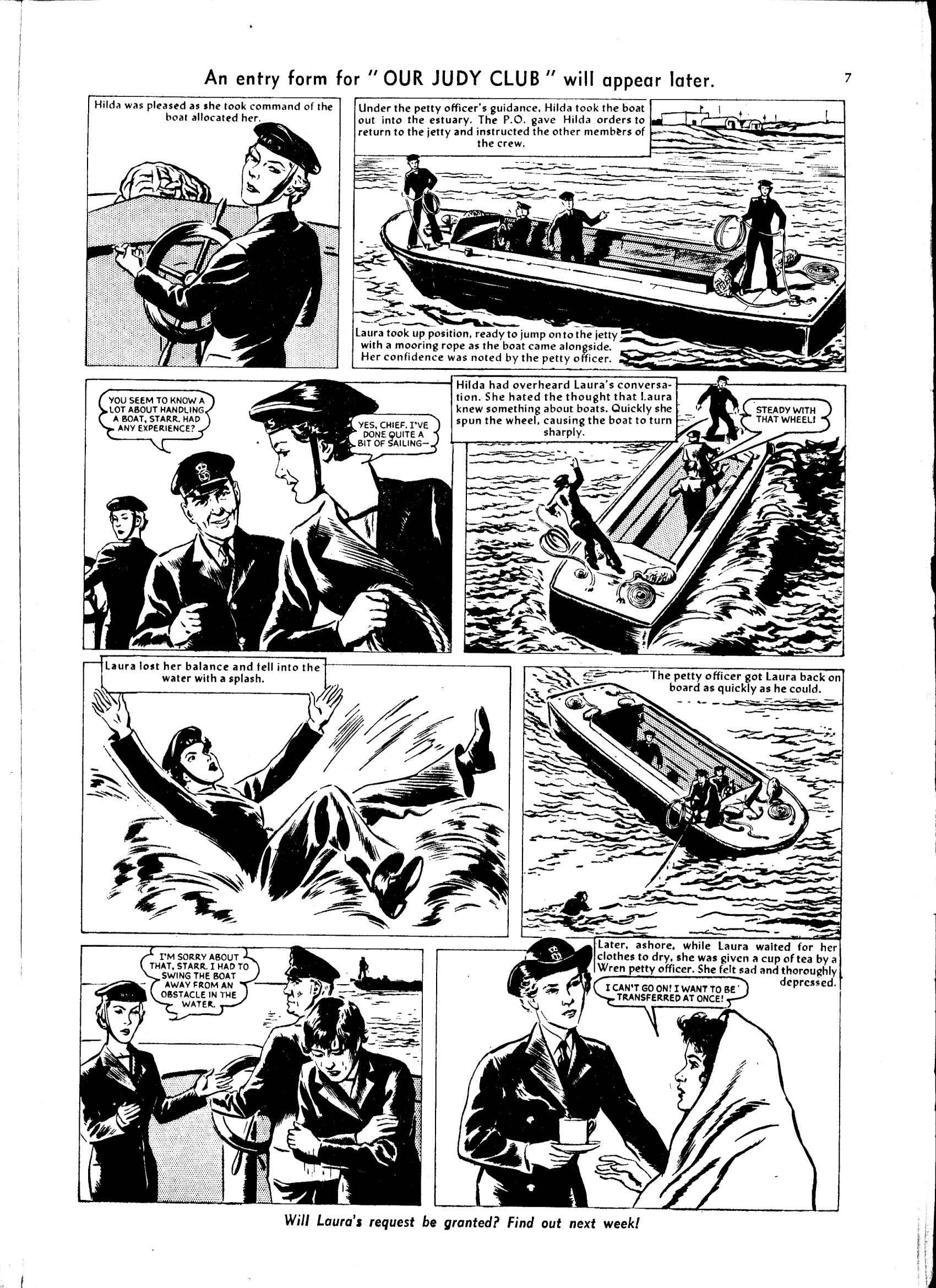 Read online Judy comic -  Issue #47 - 7