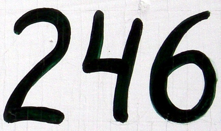 NumberADay: 246