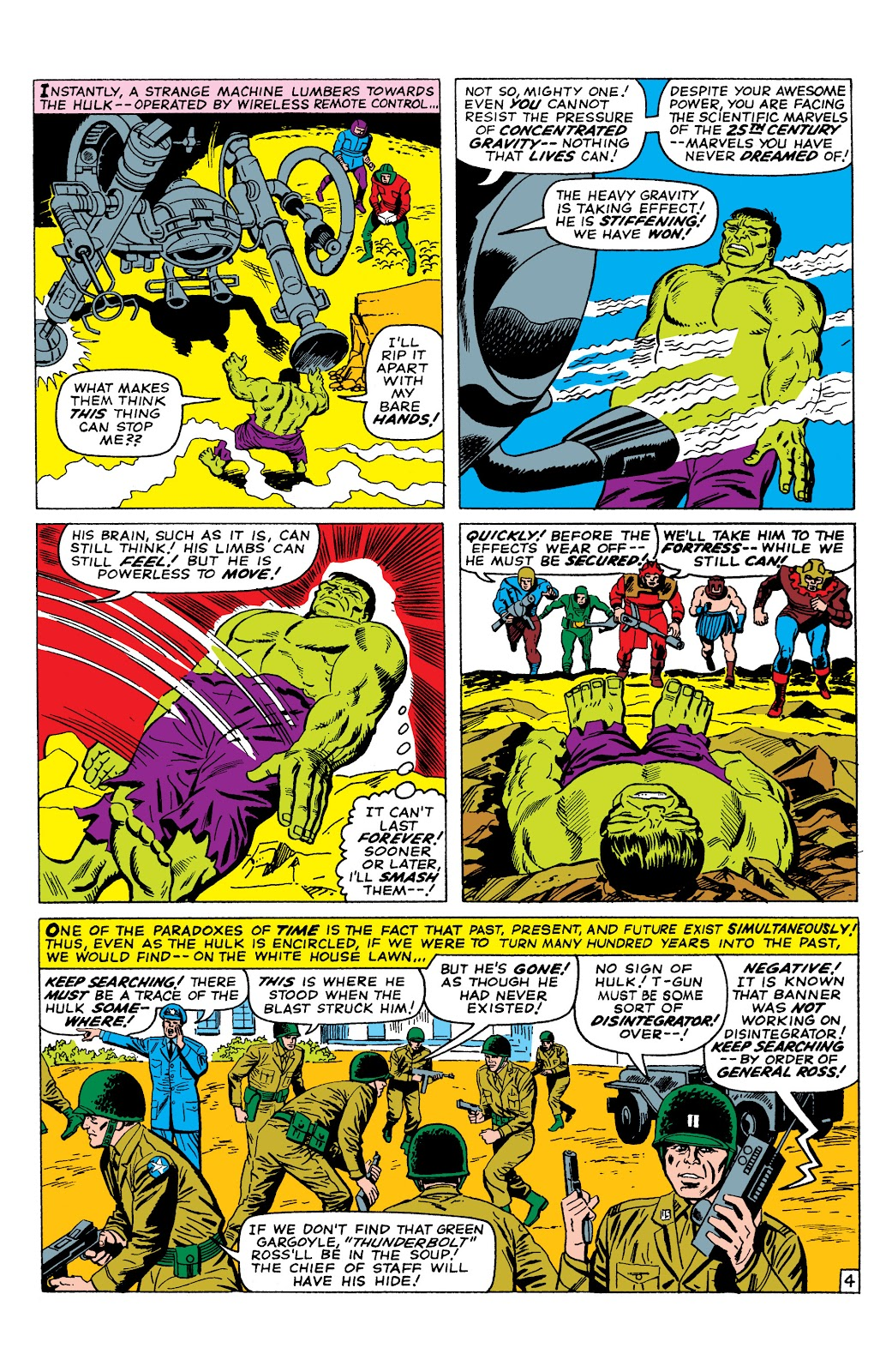Read online Marvel Masterworks: The Incredible Hulk comic -  Issue # TPB 2 (Part 3) - 4