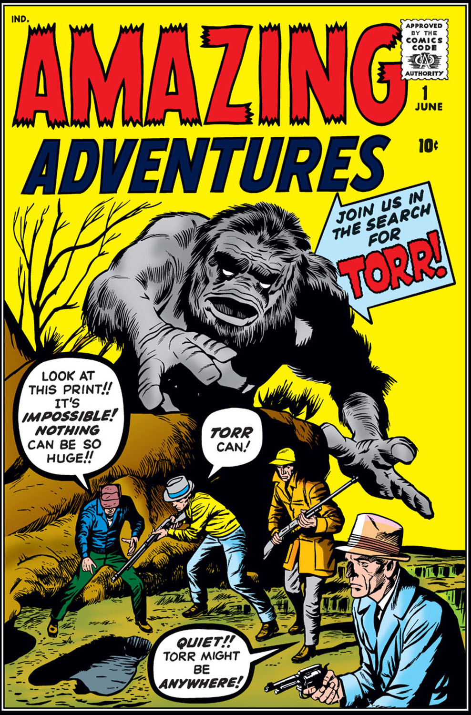 Read online Amazing Adventures (1961) comic -  Issue #1 - 1
