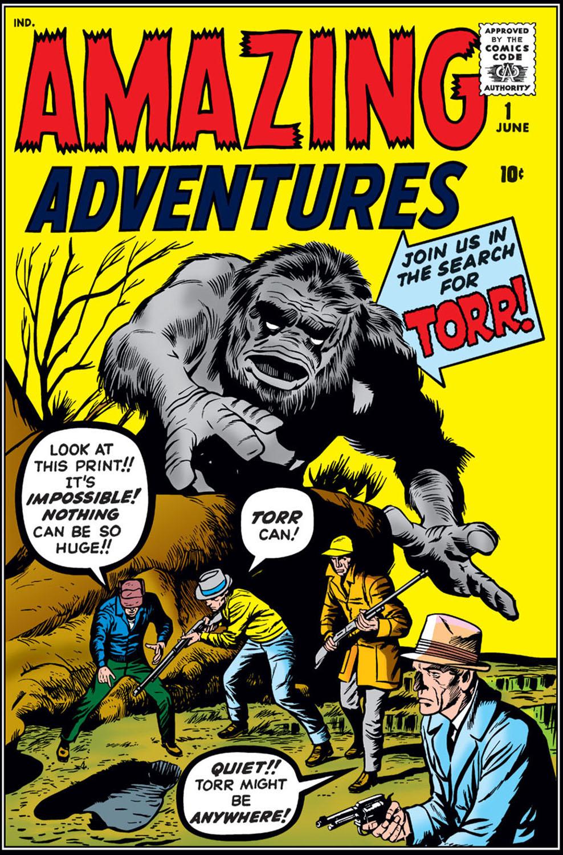 Amazing Adventures (1961) 1 Page 1