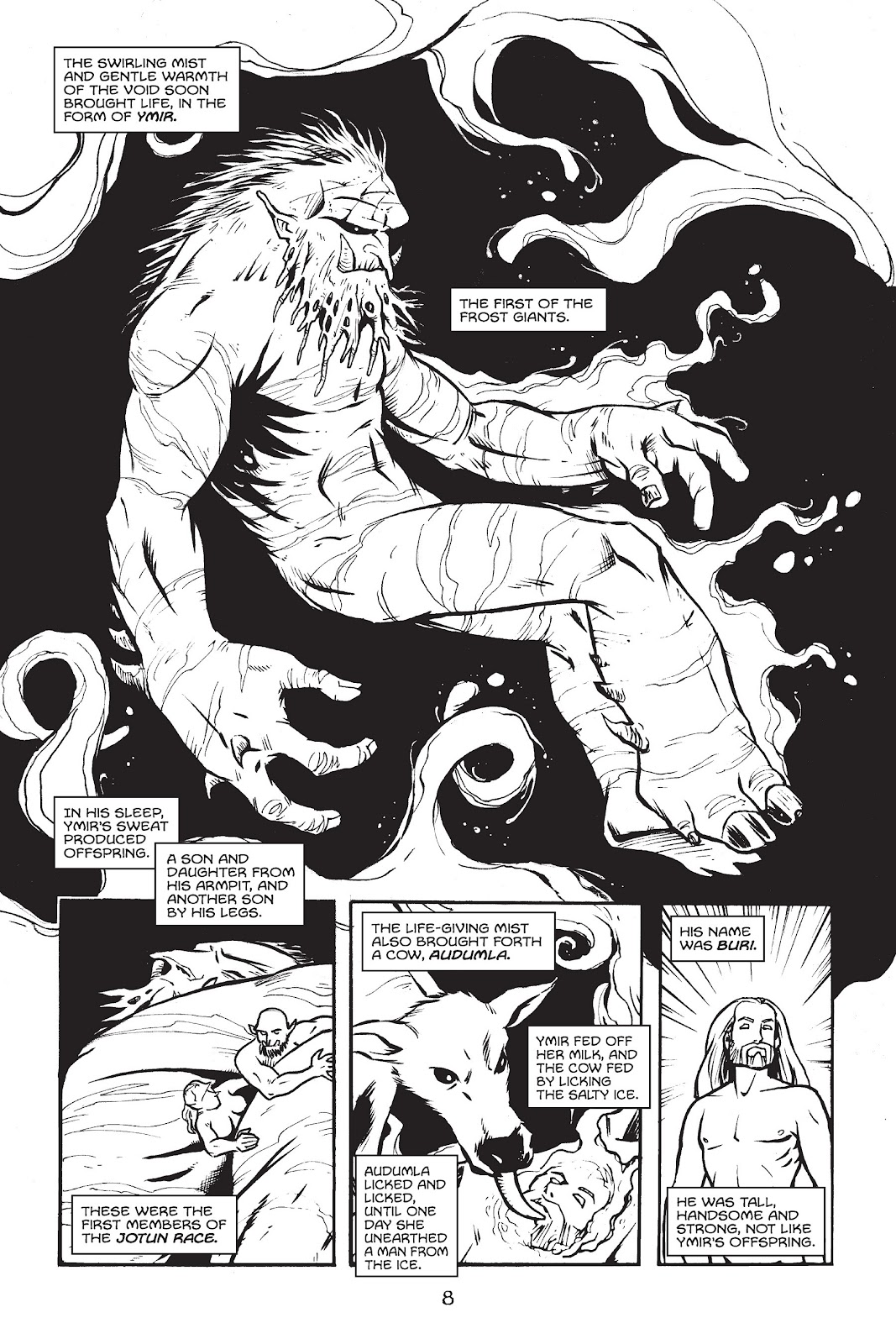 Read online Gods of Asgard comic -  Issue # TPB (Part 1) - 9
