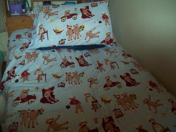 Tashame3 Sock Monkeys Clothes And Bedding