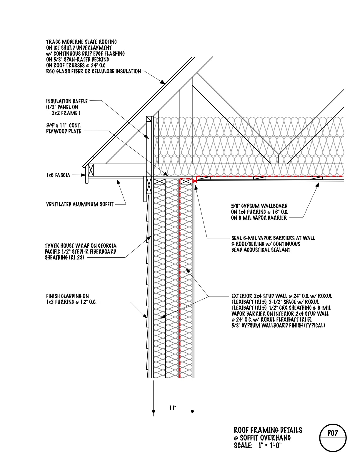 Nb Superinsulated House Maison Grande Digue Roof Kitchen Truss Diagram Extension