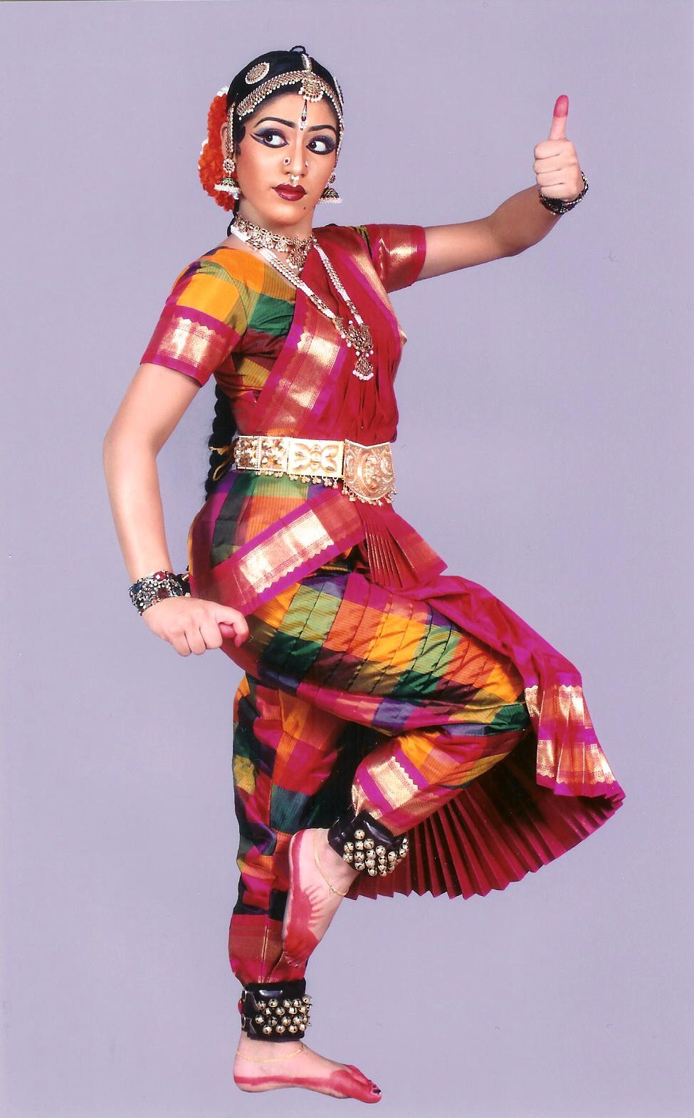 South Indian Dance Costumes