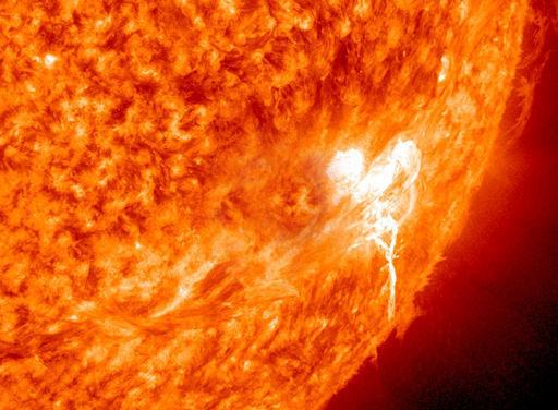 Explosión en el Sol estudio