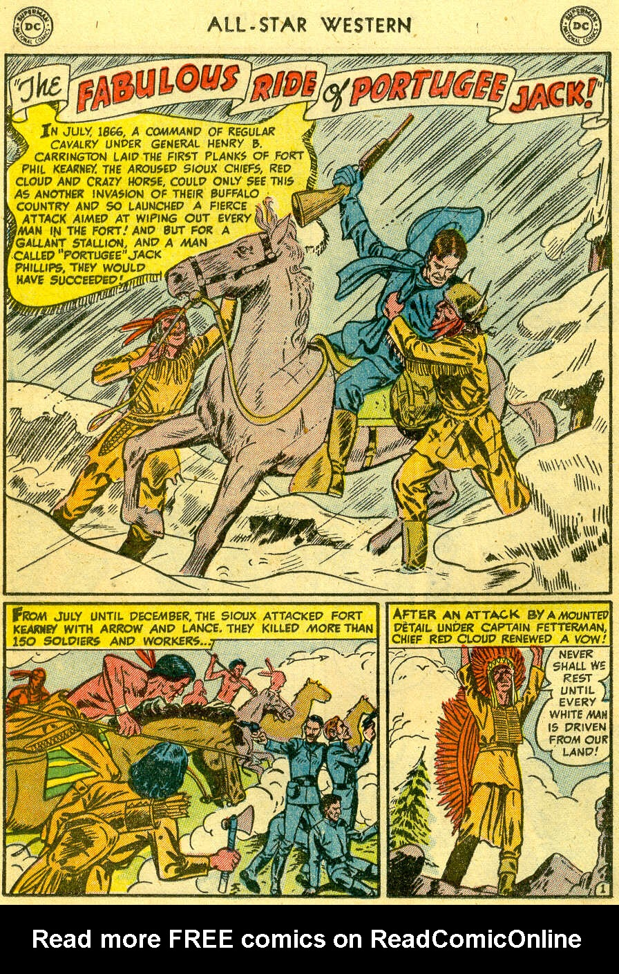 Read online All-Star Western (1951) comic -  Issue #82 - 16